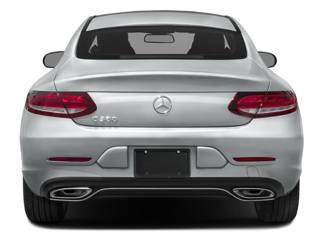 2017 Mercedes-Benz C-Class Base Price C 300 4MATIC Coupe Pricing rear view