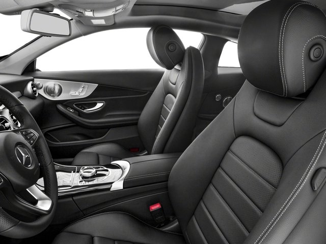2017 Mercedes-Benz C-Class Base Price C 300 4MATIC Coupe Pricing front seat interior