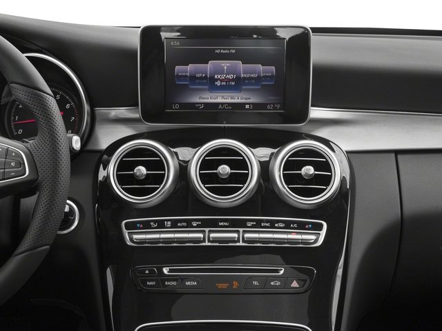 2017 Mercedes-Benz C-Class Prices and Values Coupe 2D C300 stereo system