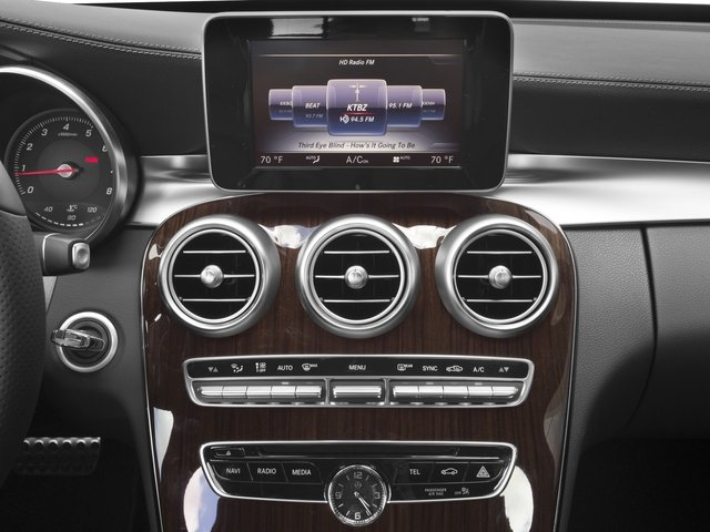 2017 Mercedes-Benz C-Class Pictures C-Class C 300 Sedan with Sport Pkg photos stereo system