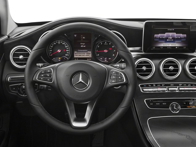 2017 Mercedes-Benz C-Class Pictures C-Class Sedan 4D C300 AWD I4 Turbo photos driver's dashboard
