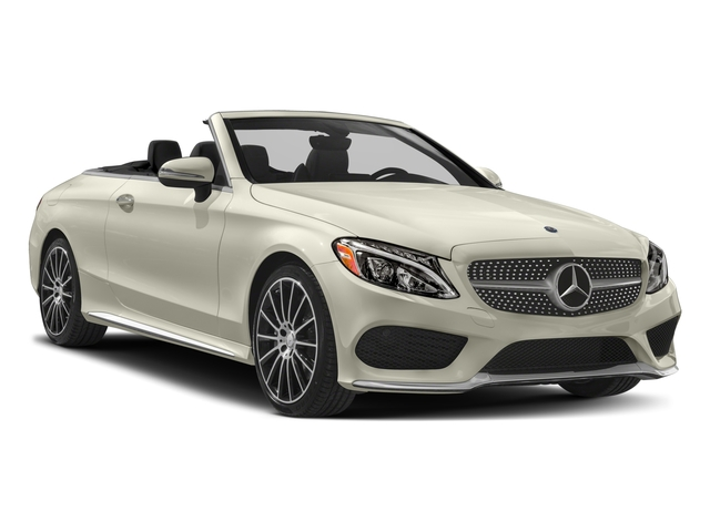 2017 Mercedes-Benz C-Class Prices and Values Convertible 2D C300 I4 Turbo side front view
