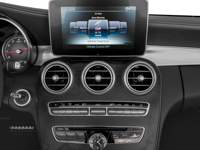 2017 Mercedes-Benz C-Class Base Price C 300 Cabriolet Pricing stereo system