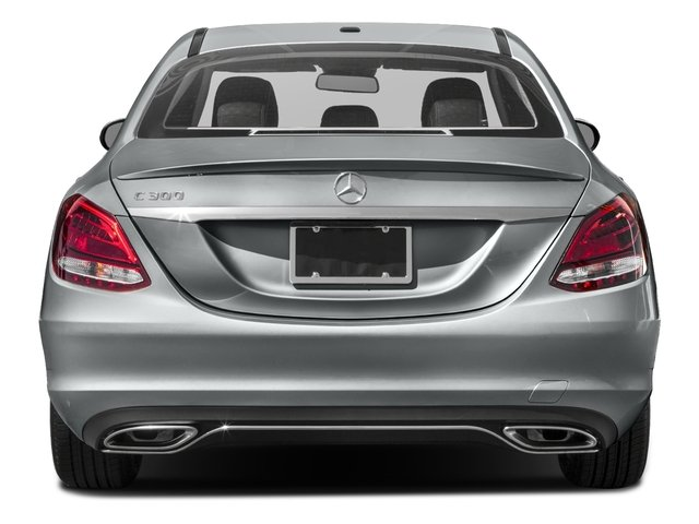 2017 Mercedes-Benz C-Class Pictures C-Class Sedan 4D C300 I4 Turbo photos rear view