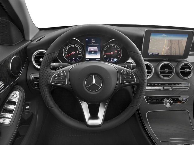 2017 Mercedes-Benz C-Class Prices and Values Sedan 4D C300 I4 Turbo driver's dashboard