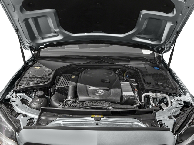 2017 Mercedes-Benz C-Class Pictures C-Class Sedan 4D C300 I4 Turbo photos engine