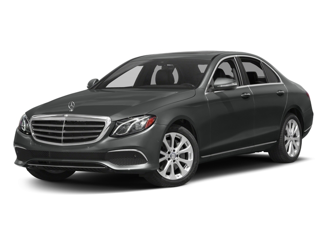 2017 Mercedes-Benz E-Class Base Price E 300 Luxury 4MATIC Sedan Pricing side front view