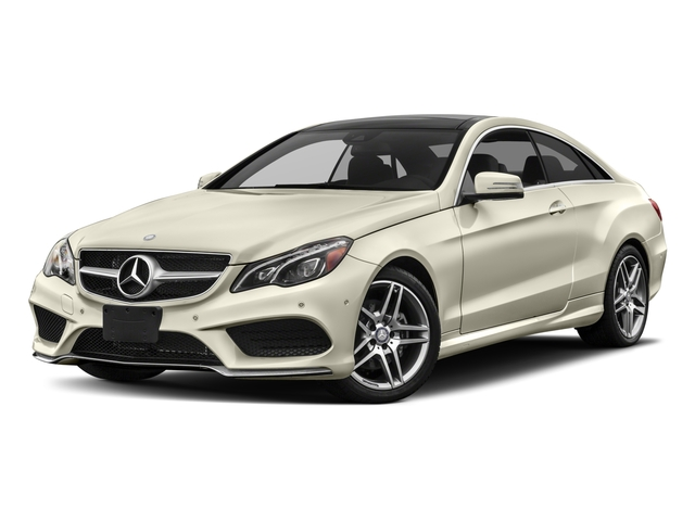 2017 Mercedes-Benz E-Class Base Price E 400 RWD Coupe Pricing side front view