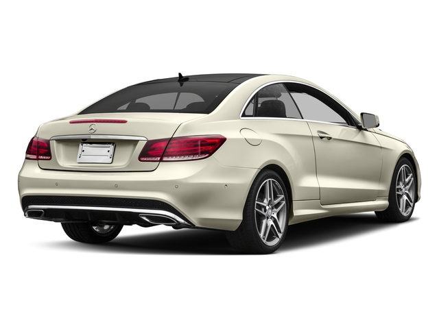 2017 Mercedes-Benz E-Class Base Price E 400 RWD Coupe Pricing side rear view