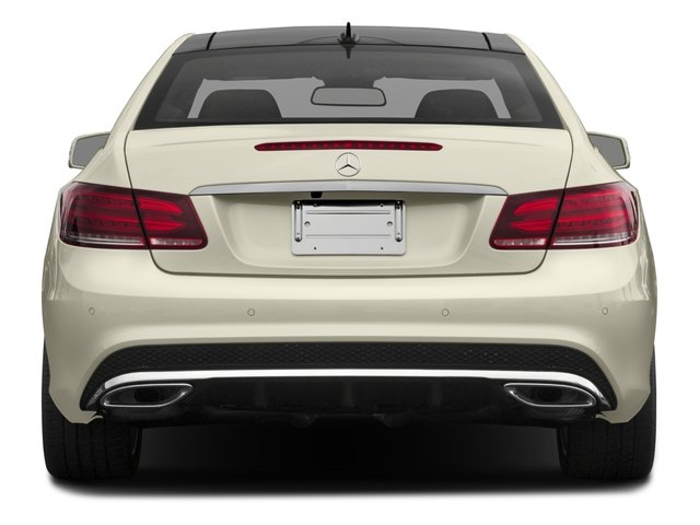 2017 Mercedes-Benz E-Class Base Price E 400 RWD Coupe Pricing rear view