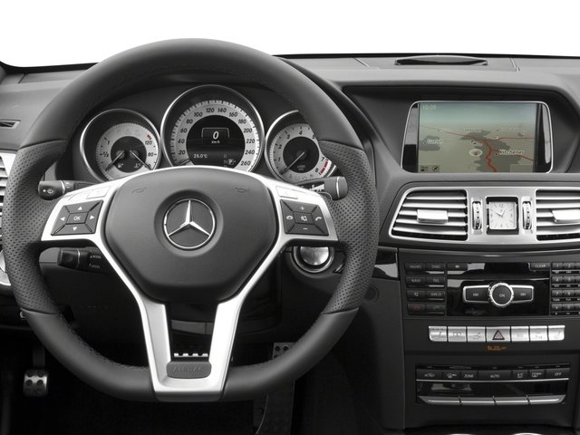 2017 Mercedes-Benz E-Class Base Price E 400 RWD Coupe Pricing driver's dashboard
