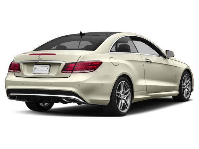 2017 Mercedes-Benz E-Class Prices and Values Coupe 2D E400 AWD V6 Turbo side rear view