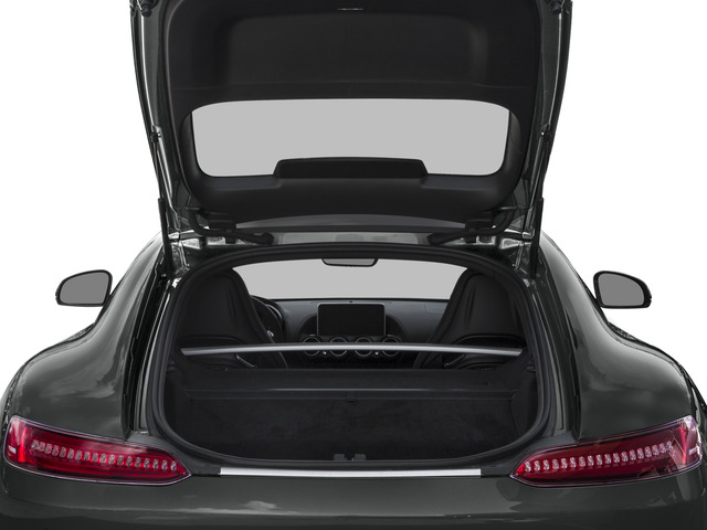 2017 Mercedes-Benz AMG GT Prices and Values 2 Door Coupe open trunk