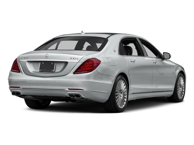 2017 Mercedes-Benz S-Class Pictures S-Class Maybach S 600 Sedan photos side rear view