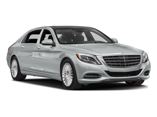 2017 Mercedes-Benz S-Class Prices and Values Sedan 4D S600 Maybach V12 Turbo side front view