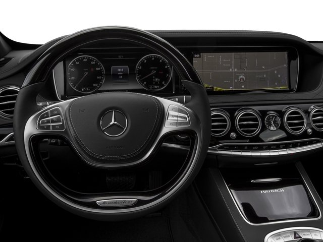 2017 Mercedes-Benz S-Class Pictures S-Class Maybach S 600 Sedan photos driver's dashboard
