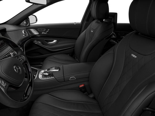 2017 Mercedes-Benz S-Class Pictures S-Class Maybach S 600 Sedan photos front seat interior