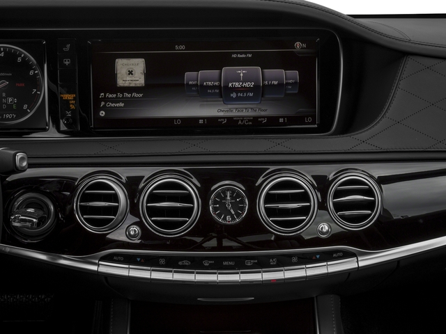 2017 Mercedes-Benz S-Class Pictures S-Class Maybach S 600 Sedan photos stereo system