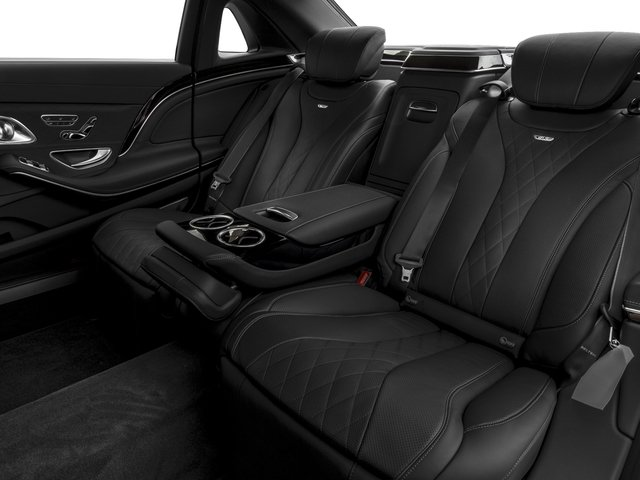2017 Mercedes-Benz S-Class Pictures S-Class Maybach S 600 Sedan photos backseat interior