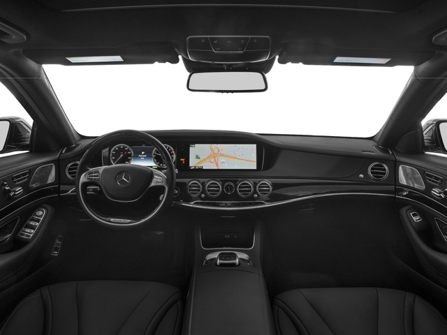 2017 Mercedes-Benz S-Class Pictures S-Class Sedan 4D S550e V6 Turbo photos full dashboard