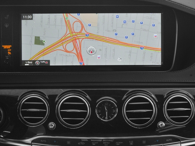 2017 Mercedes-Benz S-Class Pictures S-Class S 550e Plug-In Hybrid Sedan photos navigation system