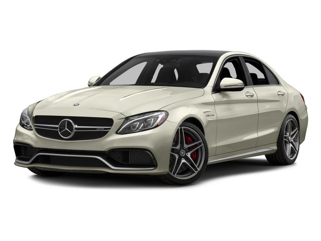 2017 Mercedes-Benz C-Class Base Price AMG C 63 S Sedan Pricing side front view