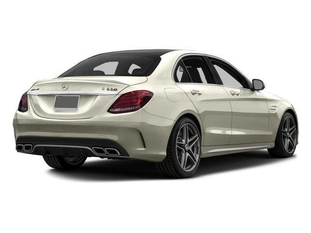 2017 Mercedes-Benz C-Class Prices and Values Sedan 4D C63 AMG S V8 Turbo side rear view
