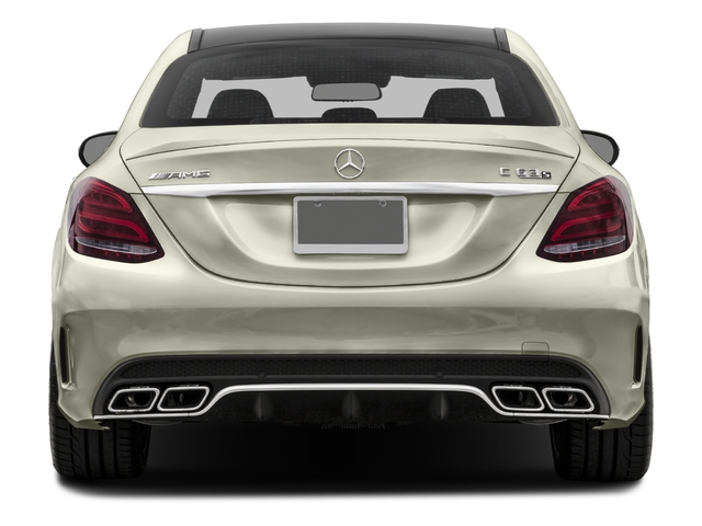 2017 Mercedes-Benz C-Class Prices and Values Sedan 4D C63 AMG S V8 Turbo rear view