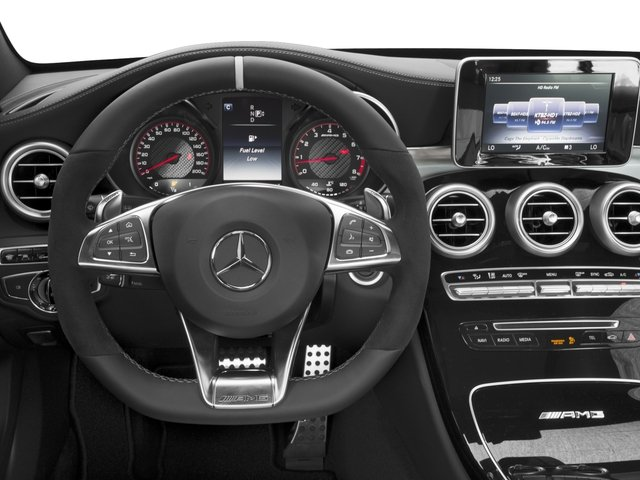 2017 Mercedes-Benz C-Class Base Price AMG C 63 S Sedan Pricing driver's dashboard