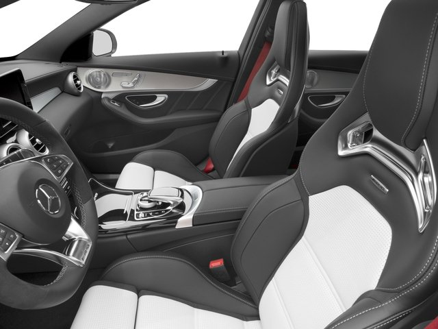 2017 Mercedes-Benz C-Class Prices and Values Sedan 4D C63 AMG S V8 Turbo front seat interior