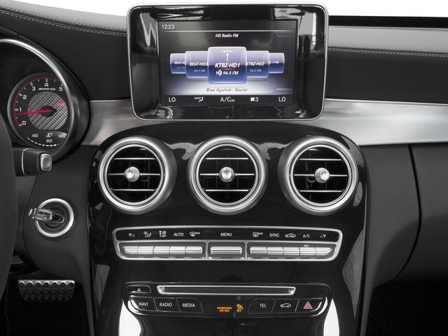 2017 Mercedes-Benz C-Class Base Price AMG C 63 S Sedan Pricing stereo system
