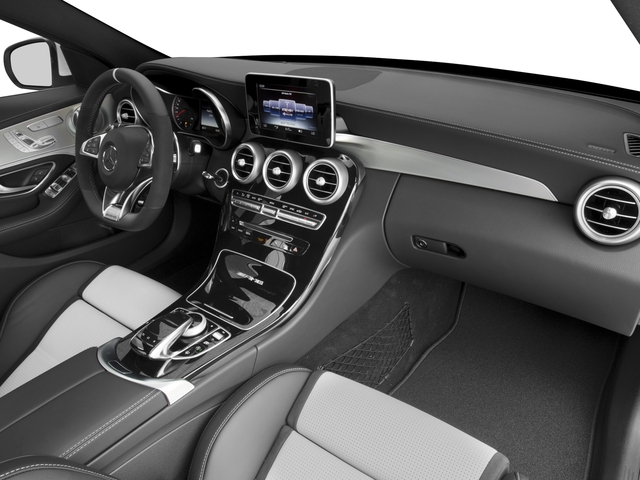 2017 Mercedes-Benz C-Class Prices and Values Sedan 4D C63 AMG S V8 Turbo passenger's dashboard