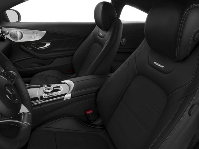2017 Mercedes-Benz C-Class Pictures C-Class Coupe 2D C63 AMG V8 Turbo photos front seat interior