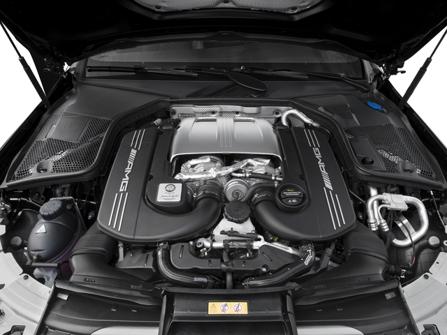 2017 Mercedes-Benz C-Class Pictures C-Class AMG C 63 Coupe photos engine
