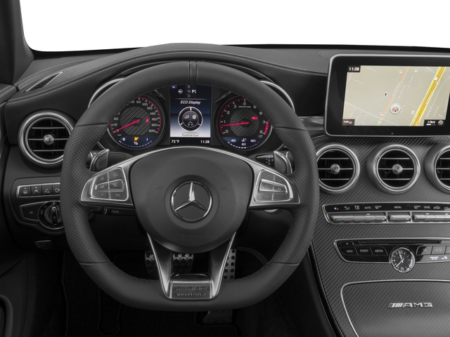 2017 Mercedes-Benz C-Class Prices and Values Convertible 2D C63 AMG S V6 Turbo driver's dashboard