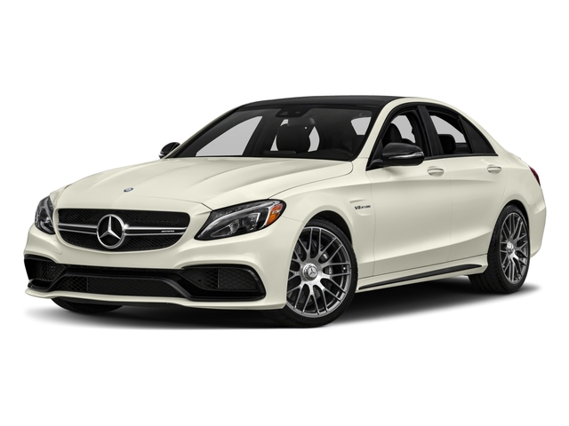2017 Mercedes-Benz C-Class Base Price AMG C 63 Sedan Pricing side front view