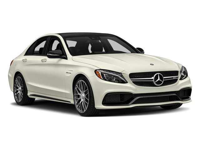 2017 Mercedes-Benz C-Class Prices and Values Sedan 4D C63 AMG V8 Turbo side front view