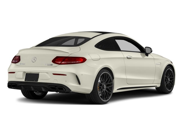 2017 Mercedes-Benz C-Class Prices and Values Coupe 2D C63 AMG S V8 Turbo side rear view