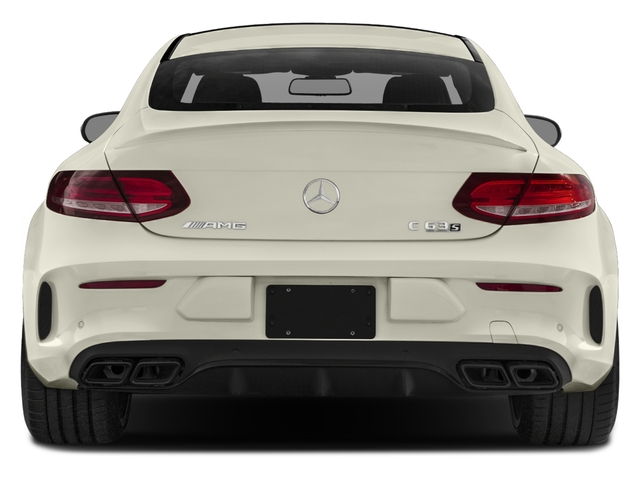 2017 Mercedes-Benz C-Class Prices and Values Coupe 2D C63 AMG S V8 Turbo rear view