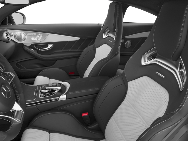 2017 Mercedes-Benz C-Class Base Price AMG C 63 S Coupe Pricing front seat interior