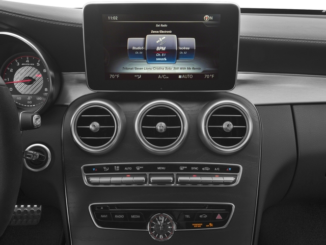 2017 Mercedes-Benz C-Class Base Price AMG C 63 S Coupe Pricing stereo system