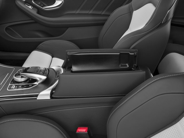 2017 Mercedes-Benz C-Class Prices and Values Coupe 2D C63 AMG S V8 Turbo center storage console