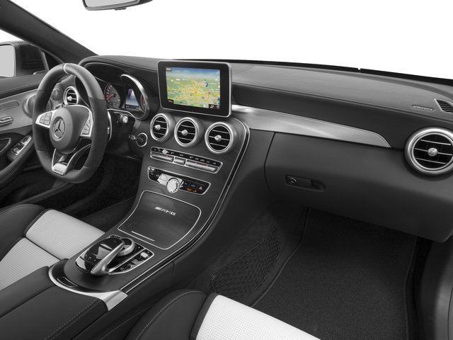 2017 Mercedes-Benz C-Class Prices and Values Coupe 2D C63 AMG S V8 Turbo passenger's dashboard