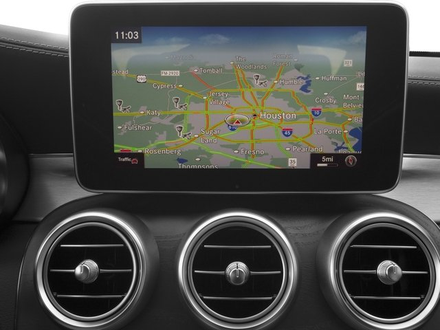 2017 Mercedes-Benz C-Class Prices and Values Coupe 2D C63 AMG S V8 Turbo navigation system