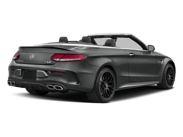 2017 Mercedes-Benz C-Class Base Price AMG C 63 Cabriolet Pricing side rear view