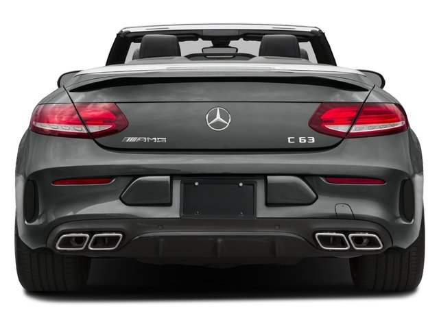 2017 Mercedes-Benz C-Class Base Price AMG C 63 Cabriolet Pricing rear view