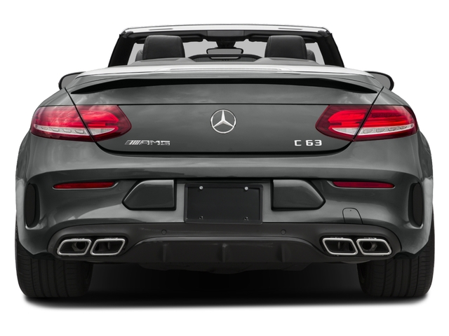 2017 Mercedes-Benz C-Class Prices and Values Convertible 2D C63 AMG V6 Turbo rear view