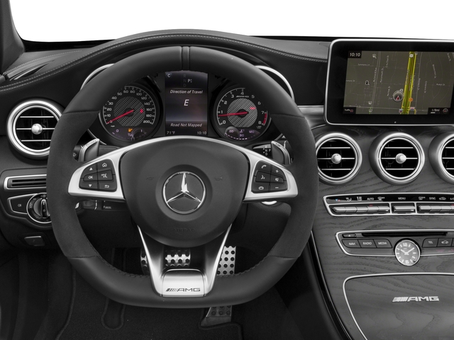 2017 Mercedes-Benz C-Class Prices and Values Convertible 2D C63 AMG V6 Turbo driver's dashboard