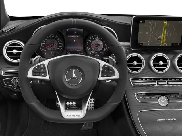 2017 Mercedes-Benz C-Class Pictures C-Class Convertible 2D C63 AMG V6 Turbo photos driver's dashboard