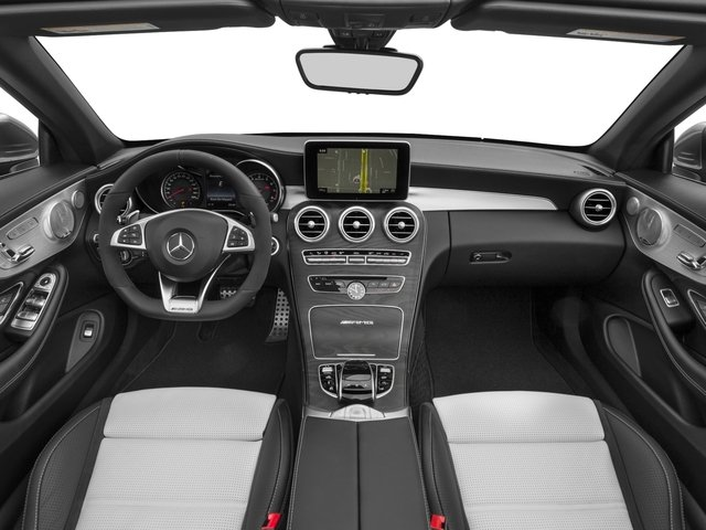 2017 Mercedes-Benz C-Class Base Price AMG C 63 Cabriolet Pricing full dashboard